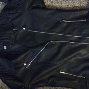RSQ Men's faux leather jacket